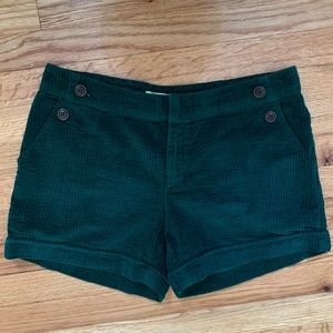 Anthro Daughters of the Liberation Corduroy Shorts